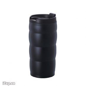 Cốc giữ nhiệt kim loại Hario V60 350ml màu đen mờ