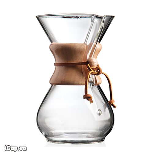 Chemex 6 cup classic series glass coffee maker