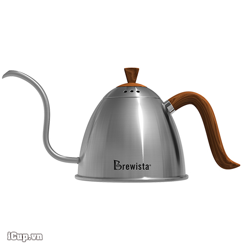 Ấm rót pour over Brewista Artisan 700ml - Màu thép