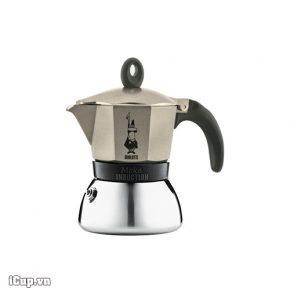 Bình pha cà phê Bialetti Induction 3 cup màu đồng