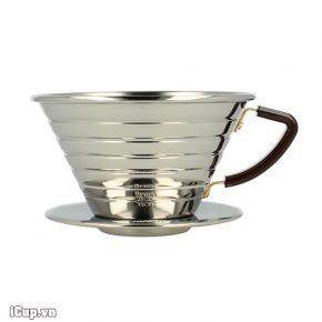 Phễu lọc cà phê Kalita Wave 185 - Made in Japan