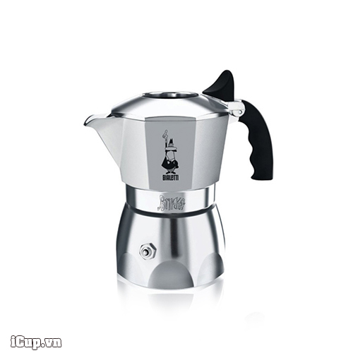 Ấm pha cà phê tích hợp van tăng áp Bialetti Brikka 2 cup - Made in Romania