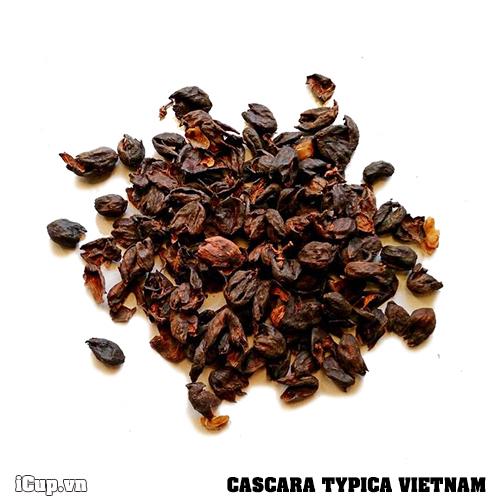 Trà Cascara từ vỏ quả cà phê Typica Lâm Đồng – 100g
