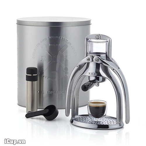 Bộ pha cà phê espresso nén bằng tay ROK - US