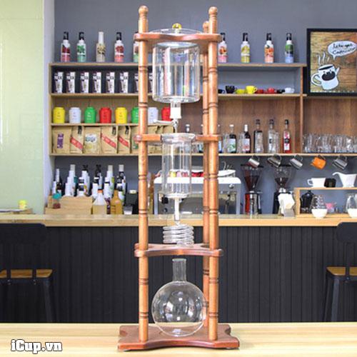 Tháp pha cà phê lạnh Tiamo 25 cup là sự đầu tư hiệu quả cho quán cà phê muốn dùng cafe pha nước lạnh Colđ Brew