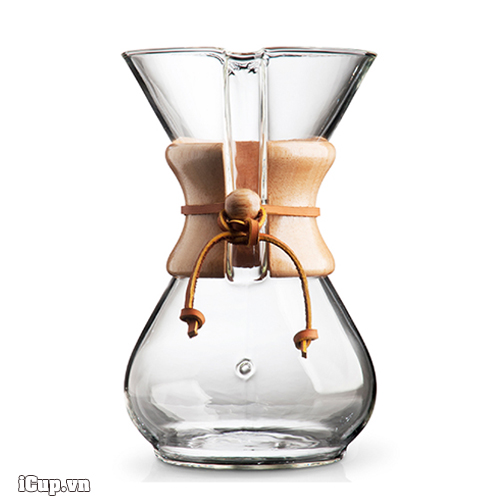 Bình pha cafe chemex 6 cup classic