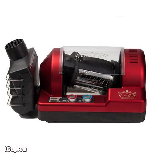 Gene Cafe CBR-101 coffee bean roaster - red