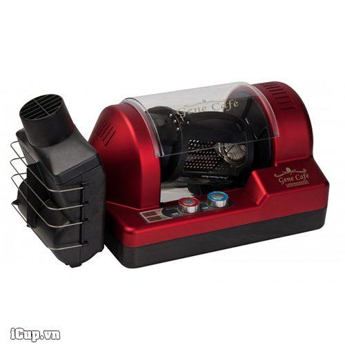 Máy rang cà phê gia đình hoàn toàn tự động Gene CBR-101A đỏ
