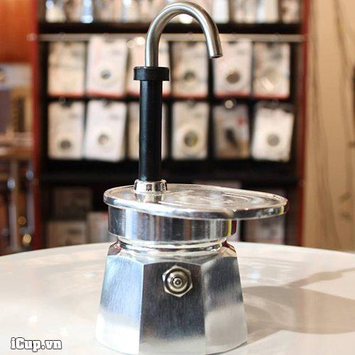 Thiết kế thừa hưởng từ ấm Moka bialetti express 1 cup
