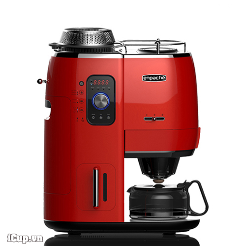 Máy rang xay pha cà phê tự động Epanche