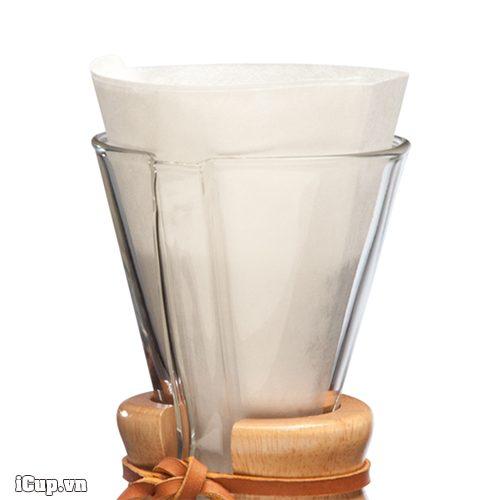 Giấy lọc cà phê chemex nửa hình tròn