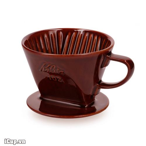 102 Ceramic Dripper Brown