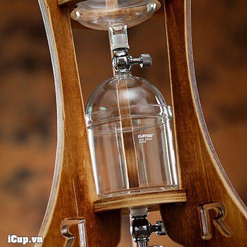 Bộ thủy tinh chứa cà phê bột của Gater BD-9
