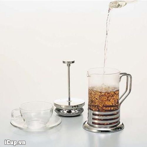 Có thể sử dụng bình Hario coffee Press để pha cà trà và và phê