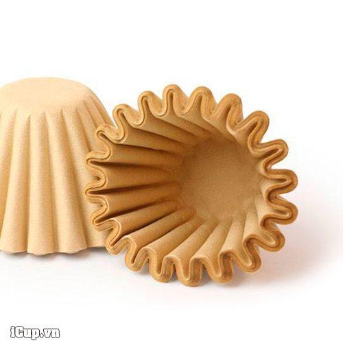 Chất liệu giấy lọc màu nâu Kalita wave của Nhật có chất lượng rất cao