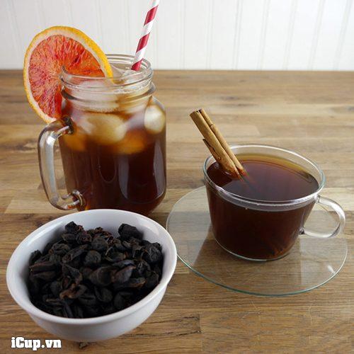 Có thể sử dụng thêm quế nếu bạn muốn cốc trà cascara có hương vị đặc biệt
