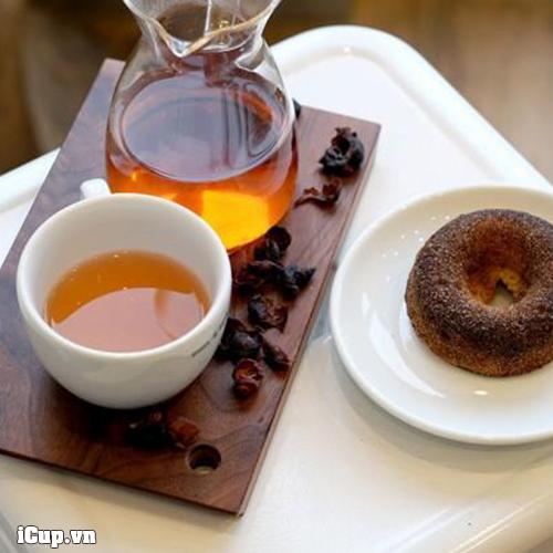 Cascara coffee có thể pha như pha trà