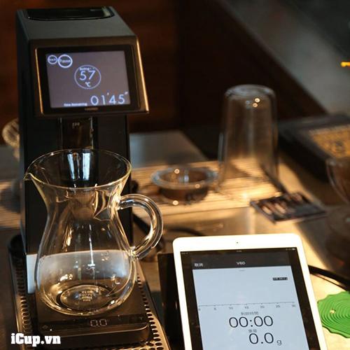 Bạn có thể sử dụng mọi dụng cụ pha cà phê bạn có với chiếc máy pha cà phê hario smart 7