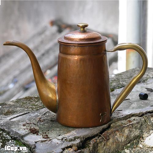 Ấm rót trà và cà phê bằng đồng hammer S800 dung tích 800ml