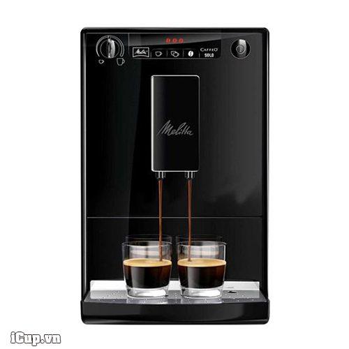 Máy pha cà phê văn phòng espresso Melita Caffeo Solo