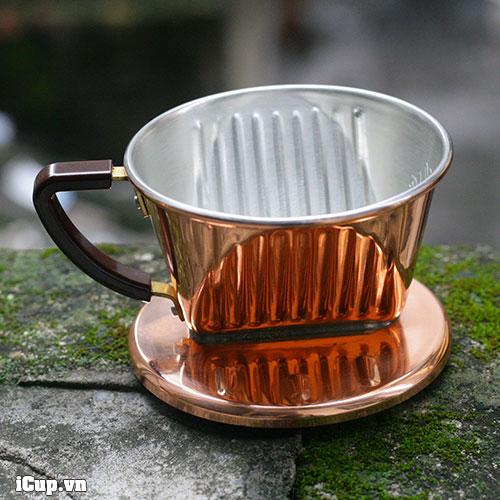 Kalita copper coffee dripper 101-CU 1-2 persons