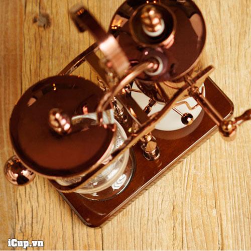 Phiên bản mạ đồng đen quá đẹp của syphon cân bằng kiểu quang gánh TimeMore