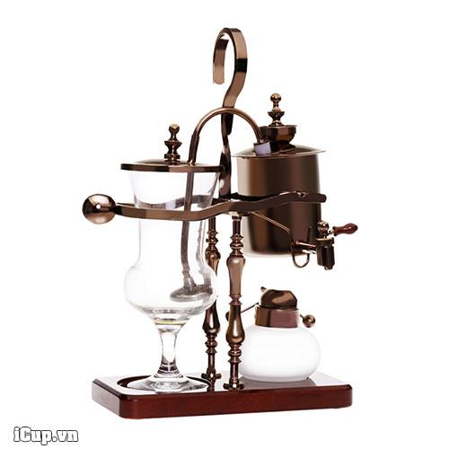 Syphon pha cà phê cân bằng phiên bản mạ đồng đen Black Copper hãng Time More