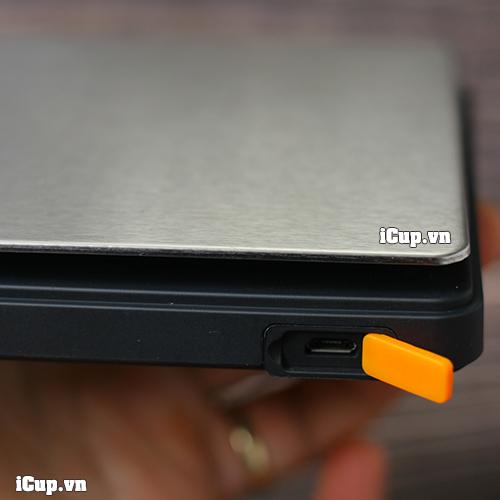 Cổng sạc micro usb tiện dụng trên cân điện tử Brewista Smart II