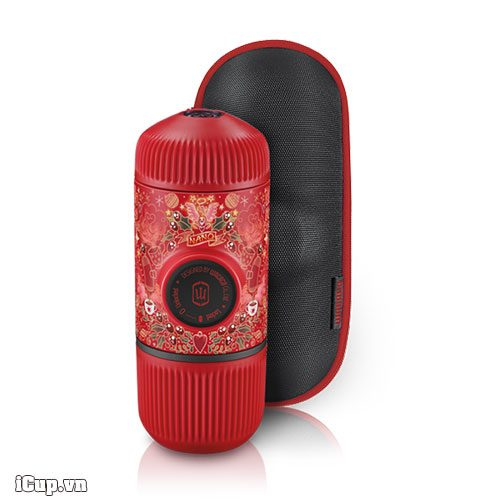 Dụng cụ pha espresso cầm tay Wacaco Nanopresso Red Tattoo Pixie Limited