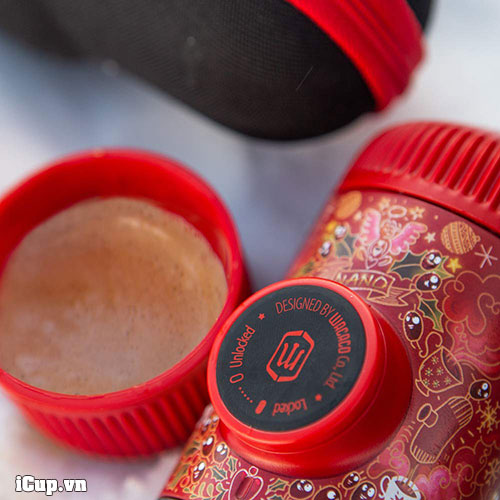 Màu sắc cực kỳ ấn tượng của Nanopresso phiên bản Red Tattoo Pixie