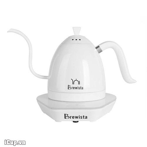 Ấm điện tử có bếp đun Brewista Artisan phiên bản đặc biệt màu tuyết trắng