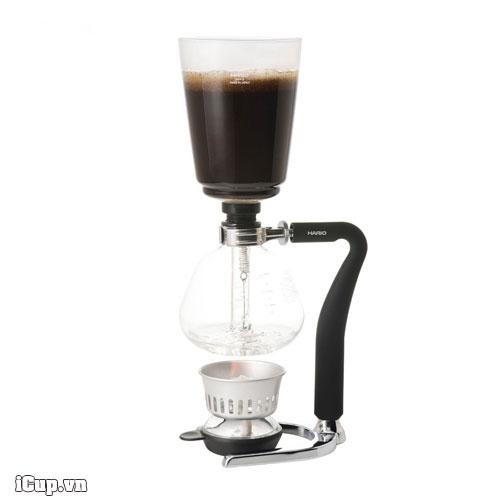 Syphon cà phê Hario Next 5 đi kèm một bếp cồn chuyên dụng