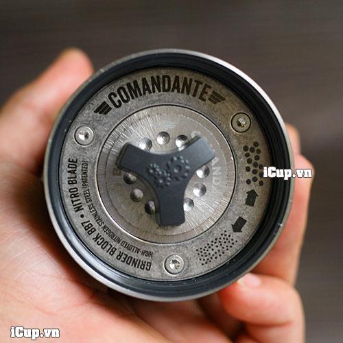 Bộ cối nghiền bằng thép trơ siêu cứng làm nên tên tuổi của hãng Comandante