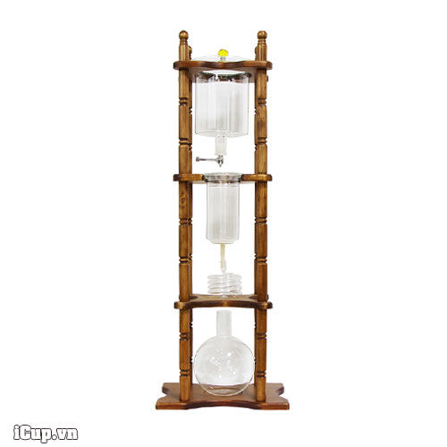 Tháp pha cà phê lạnh 4 tầng siêu lớn Cold Drip Tiamo 25 cup 3600ml