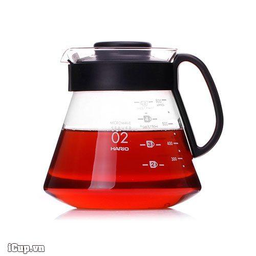 Hario XVD-60B có thể sử dụng để pha trà