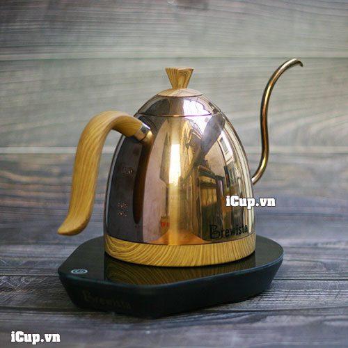 Ấm điện đun nước rót Pour Over Brewista chuyên nghiệp