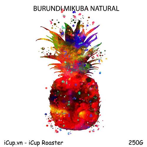 Cà phê Burundi Mikuba (Red Bourbon) - 250g iCup Roaster