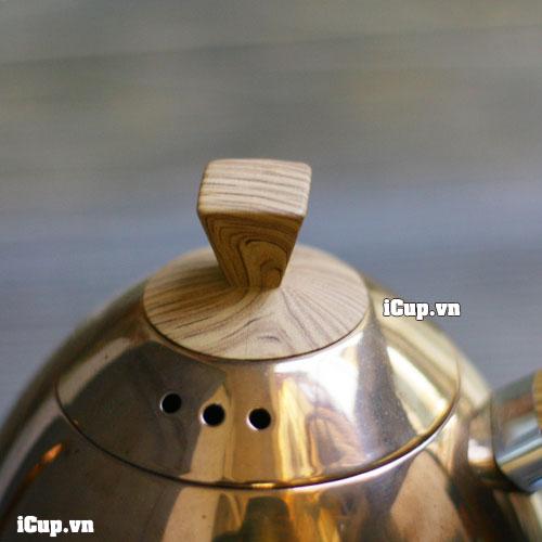 Nắp nhựa Phenolic giả gỗ cho phép cầm nắm dễ dàng mà không bị bỏng