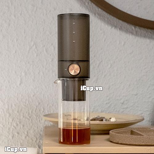 Bộ pha cà phê lạnh Timemore ice drip màu đen mờ 400ml