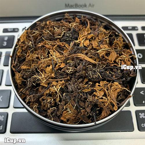 Trà hoa cà phê Robusta có màu nâu đậm