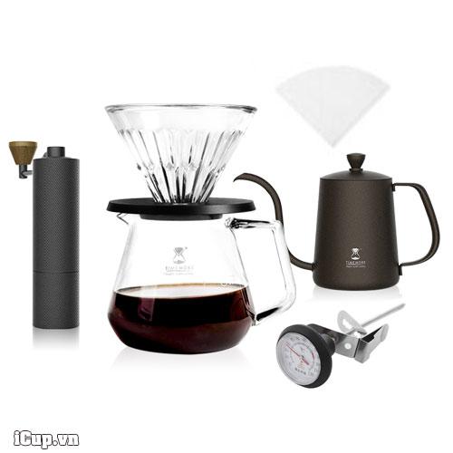 Bộ pha cà phê thủ công Timemore Slim với đầy đủ dụng cụ cho hand brew
