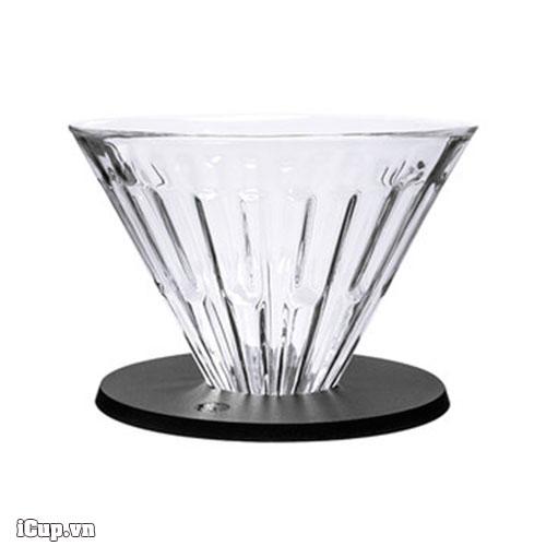 Phễu thuỷ tinh Timemore V60 Crystal 02