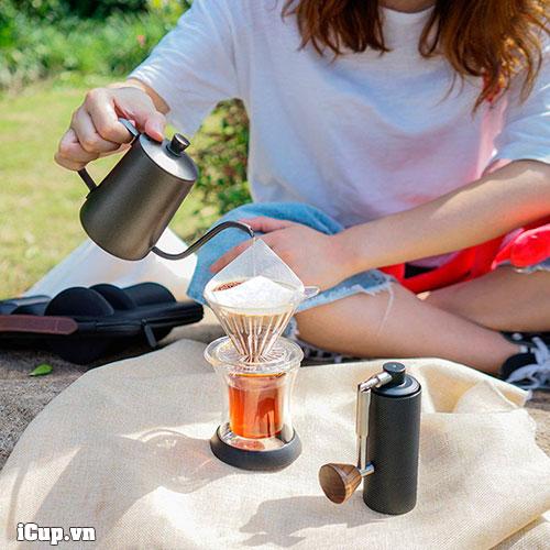 Pha cà phê ở mọi nơi với set nano Carrying