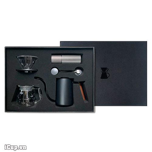 Timemore Lite C2 Drip Set Black - Một khởi đầu dễ dàng với người yêu cà phê