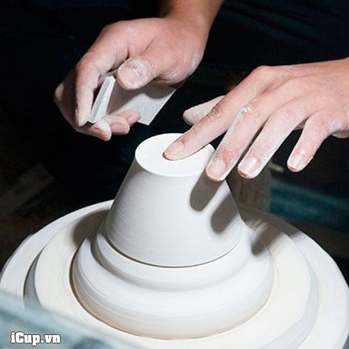 1 quá trình chế tác bộ Tianmu Pour Over