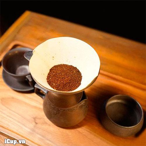 Chuẩn bị Pour Over cùng Tianmu