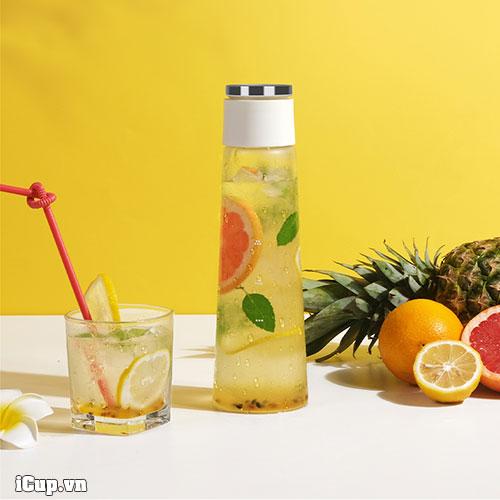 Detox cùng chai cold brew Timemore - Ngâm mọi thứ bạn thích và bổ sung nhiều nước cho cơ thể giải độc