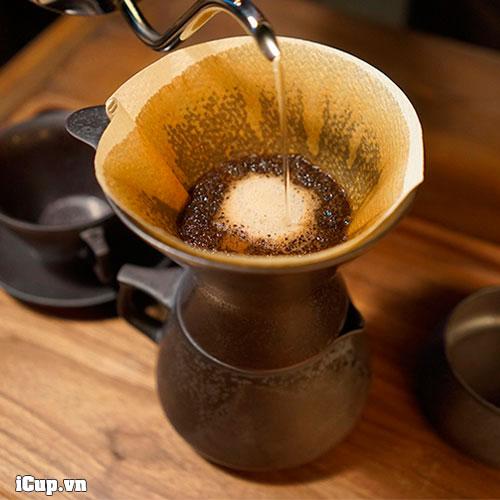 Pha cà phê với bộ Tianmu Pour Over