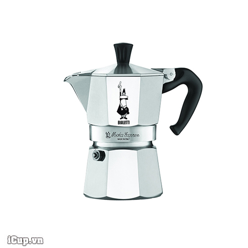 Ấm Moka Bialetti Express 3 cup 130ml - Made in Italy