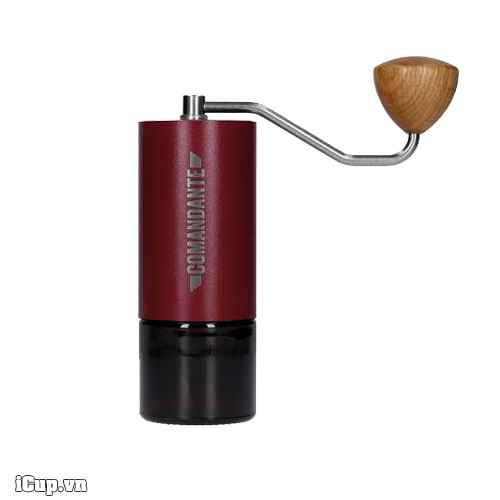 Comandante Red Burgundy - Cực phẩm máy xay cà phê tay Germany màu rượu vang